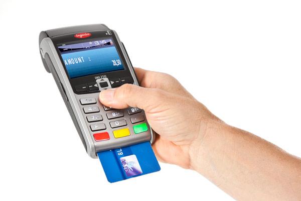 portable visa machine
